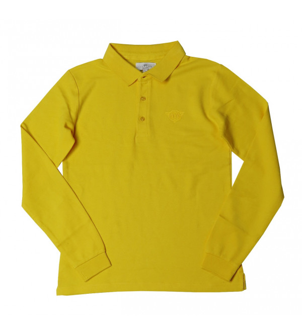 Boys Long Sleeve Collar T Shirt