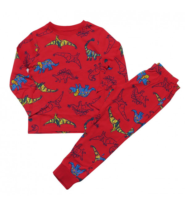Boys Printed Pyjama Set