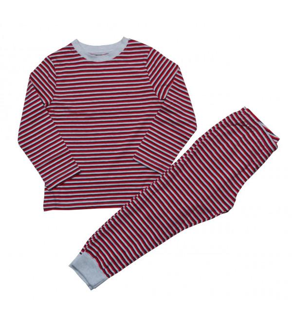 Boys Striped Pyjama Set