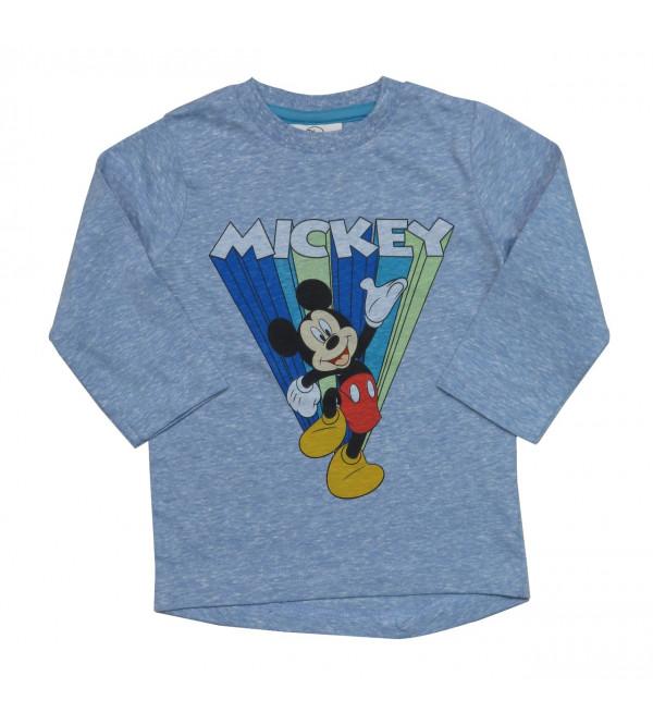 MICKEY MOUSE Boys Long Sleeve T Shirt
