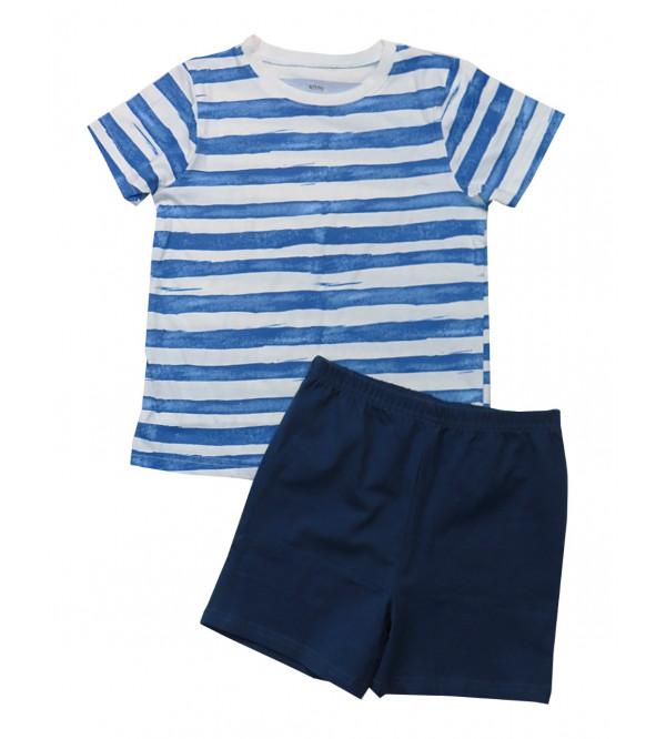 Boys Shorty Pyjama Set Packaged