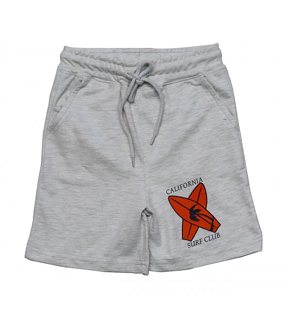 Boys Printed French Terry Shorts