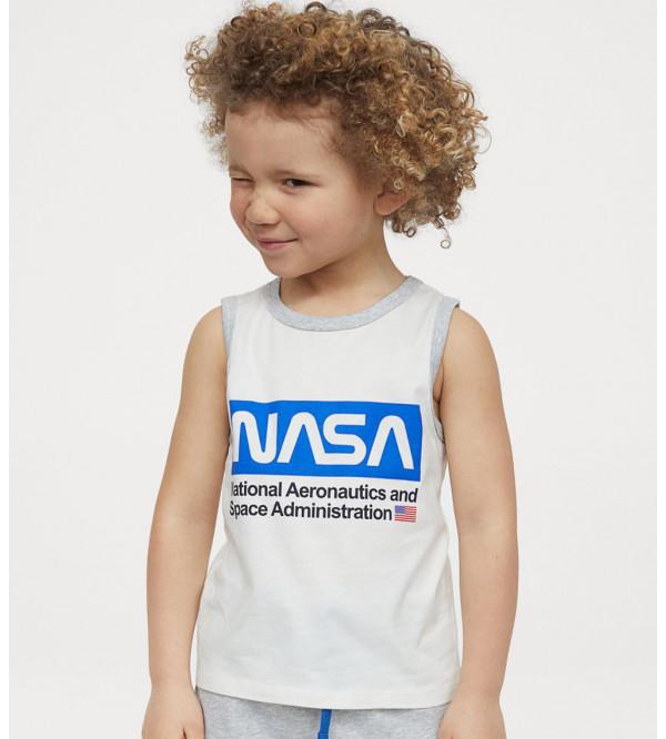 Nasa Boys Sleeveless T Shirt
