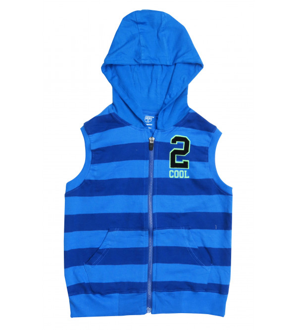 Boys French Terry Full Zipper Sweatshirt