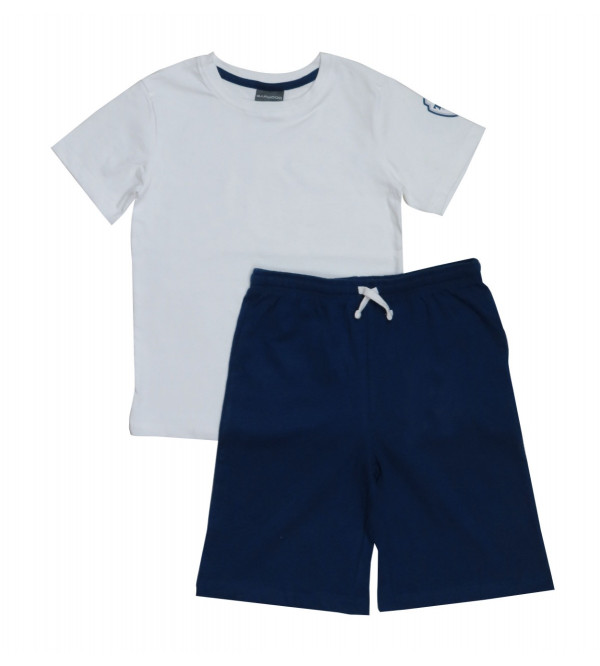 Older Boys Shorty Pyjama Set