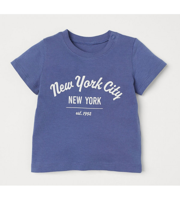 H&M Boys Printed T Shirt