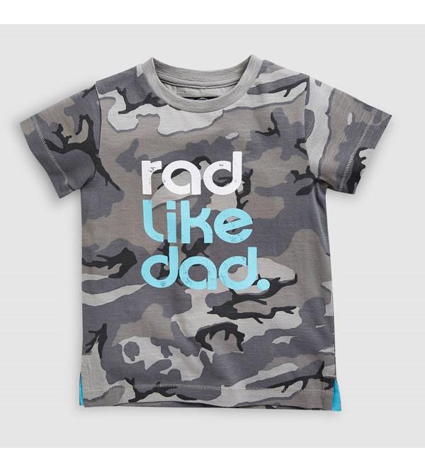 next Boys Camo Print T Shirt