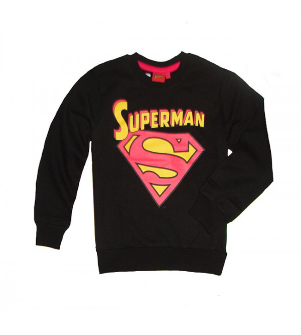 SUPERMAN Boys Printed Pullover Sweatshirt
