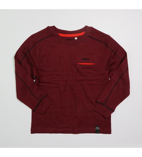 DKNY Boys Long Sleeve T Shirts Assorted