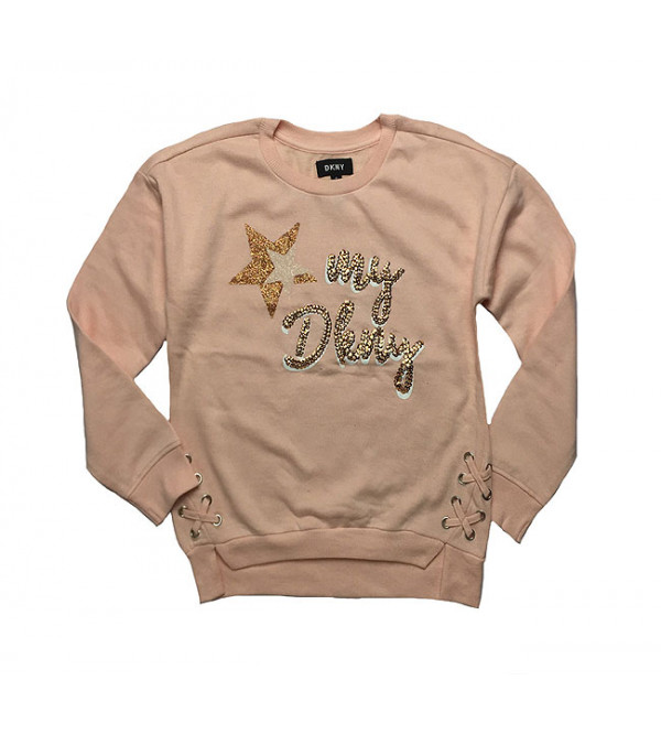DKNY Girls Assorted Pullover Sweatshirts