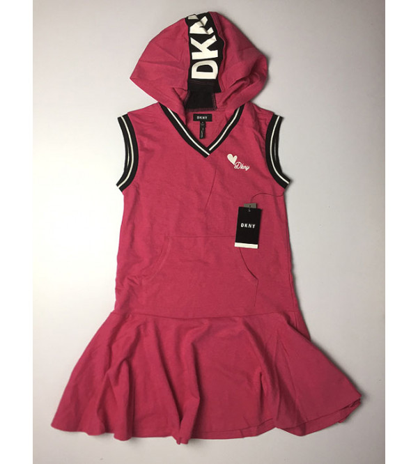 DKNY Girls Loop Knit Dress, Long Top and Dungarees