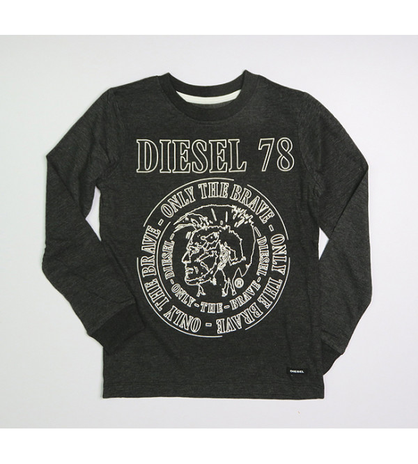 DIESEL Boys Long Sleeve T Shirts Assorted