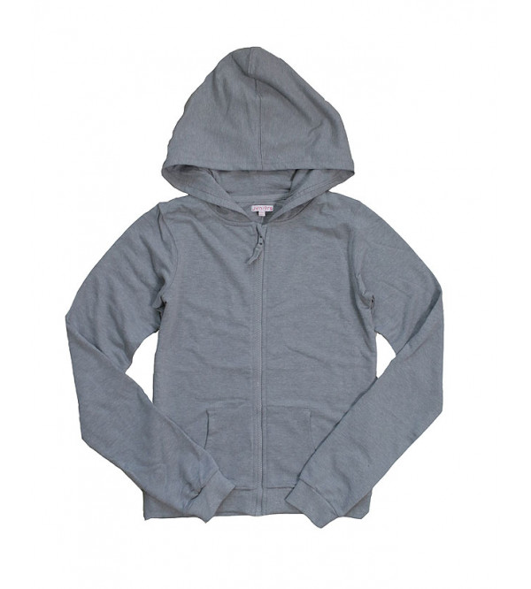 Girls Full Zipper Hooded Sweatshirt
