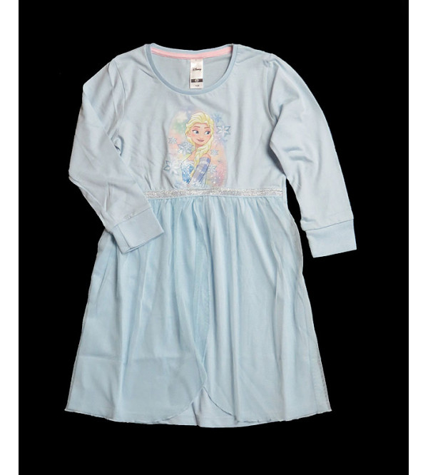 DiSNEY Girls Dress With Mesh Trims