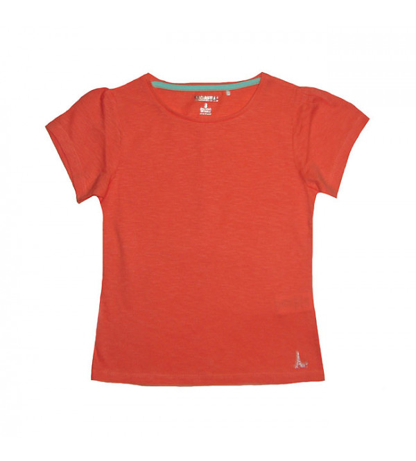 Girls Slub Knit T Shirt