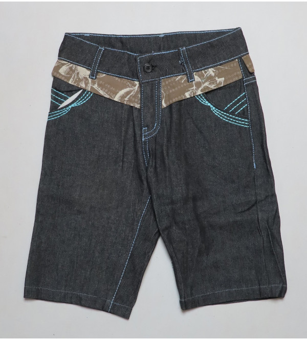 Girls Denim Woven Shorts