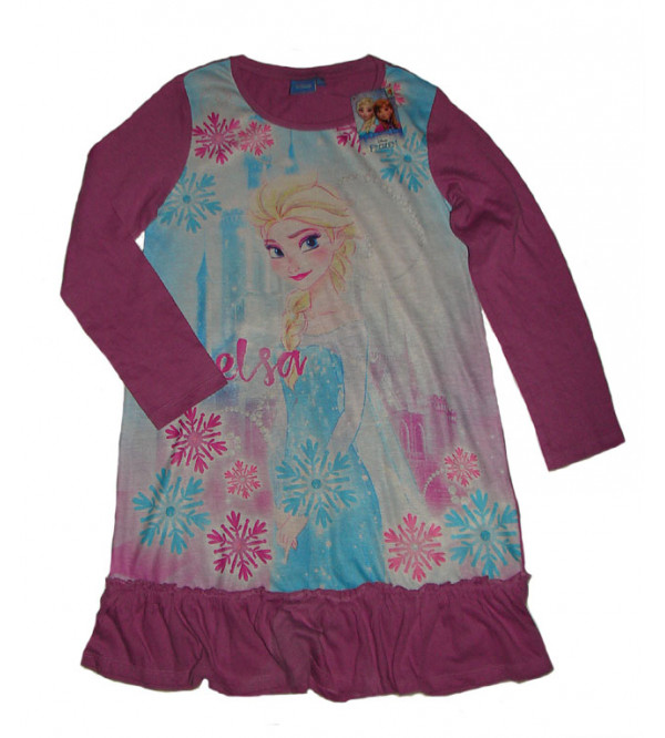 DiSNEY Girls Sublimation Printed Night Dress