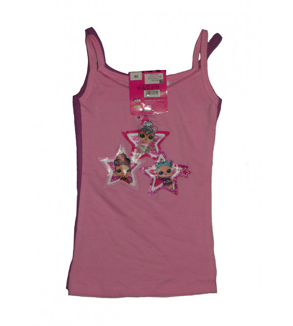 Character Printed Girls Innerwear 2 pcs pack Tanks
