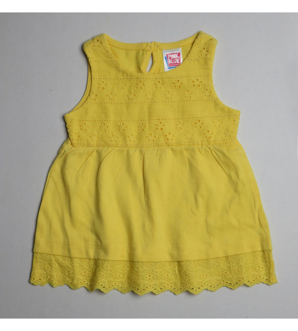 Baby Girls Chicken Pleated Dress