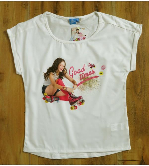 So Luna Girls Glitter Printed T Shirt