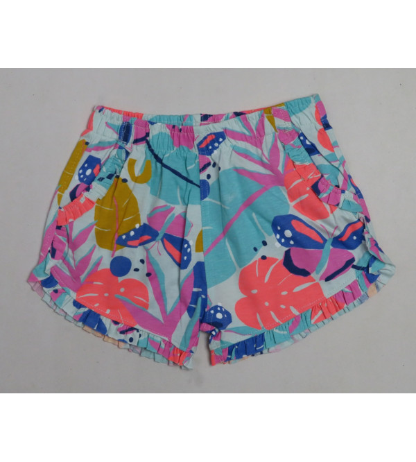 Girls Shorts With Frill