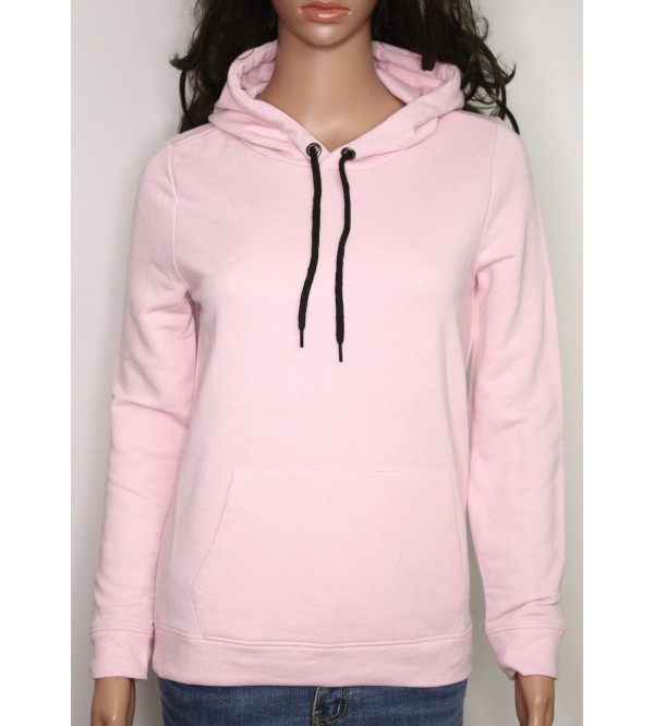 Girls Hooded Pullover Sweatshirt