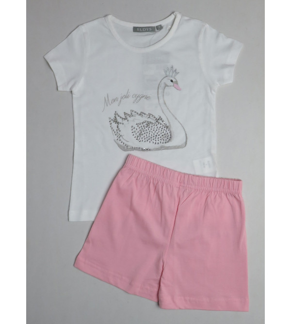 Girls Shorty Pyjama Set