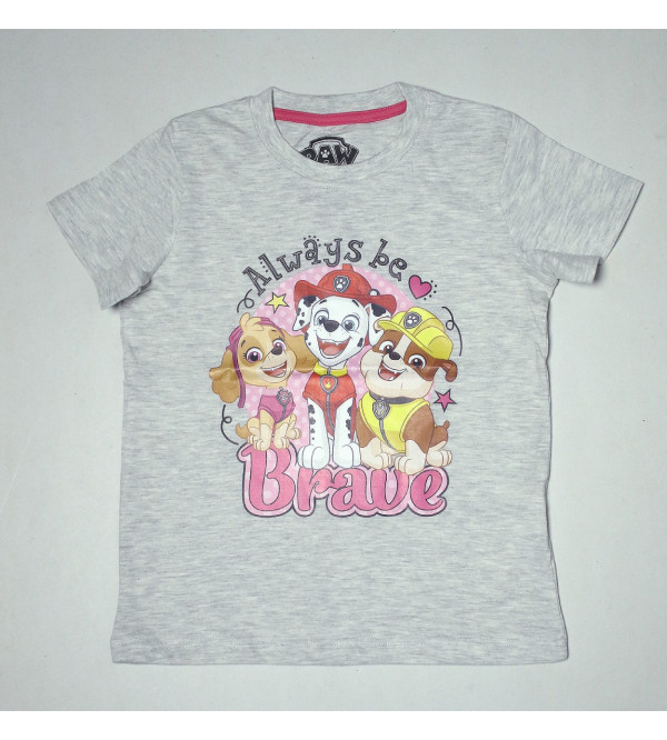 Paw Patrol Printed Girls T Shirt
