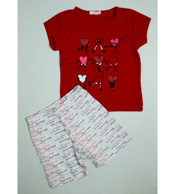 Girls Shorty Pyjama Set