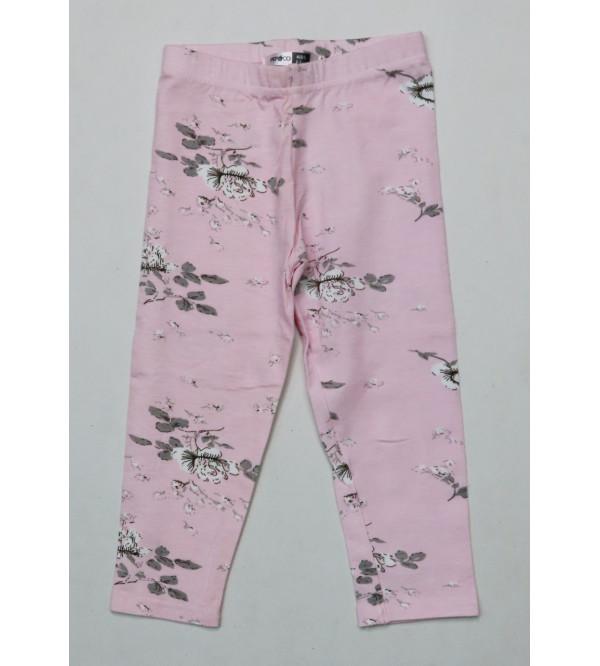Girls Stretch Printed Leggings