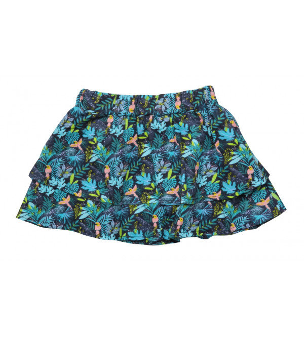 Girls All Over Printed Skirt