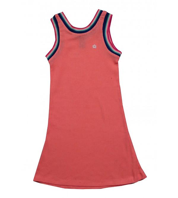 Girls Drop Needle Dress