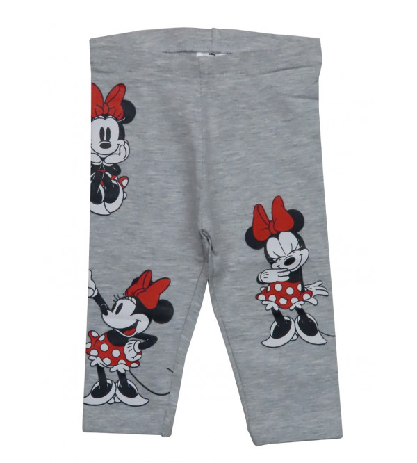 Minnie Mouse Printed Girls Leggings