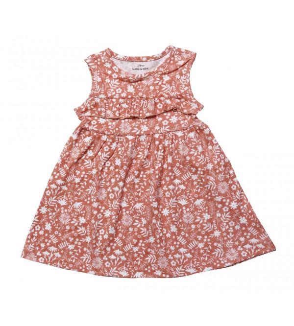 Girls Printed Dress