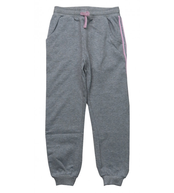 Older Girls Lurex Printed Knit Jogger