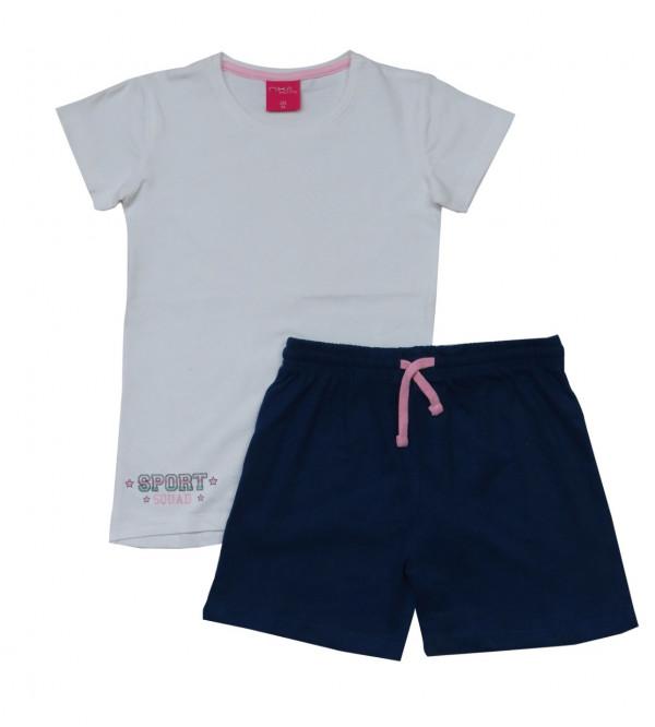 Older Girls Shorty Pyjama Set