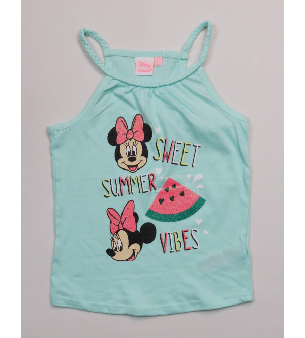 Minnie Mouse Girls Strappy Tank Top