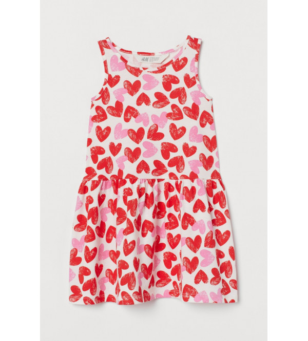 H&M All Over Printed Girls Knit Dresses