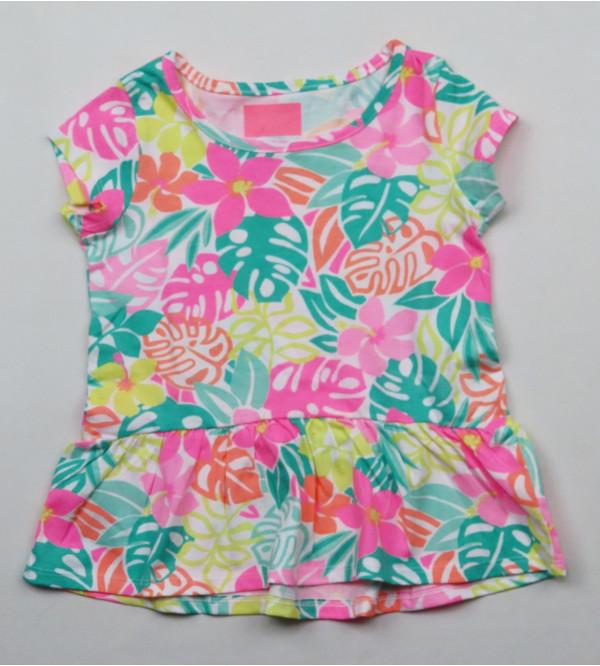 Girls Printed Fancy Top