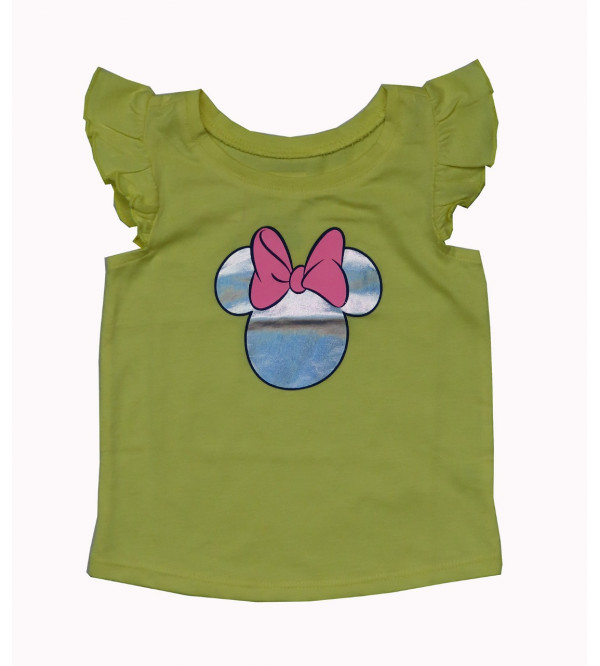 Minnie Mouse Printed Baby Girls Top
