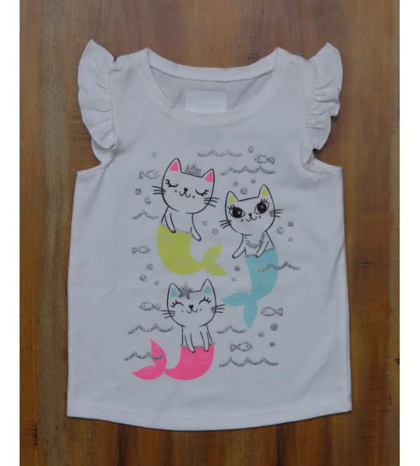 DiSNEY Girls Printed  Top