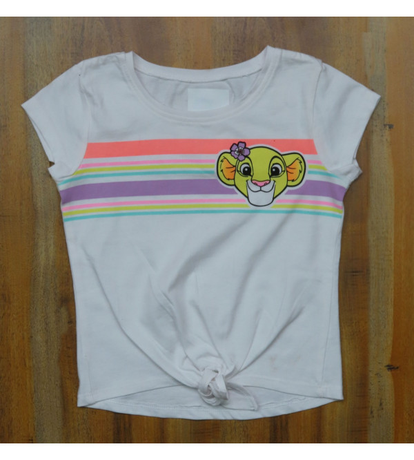 The Lion King Girls Printed  Top