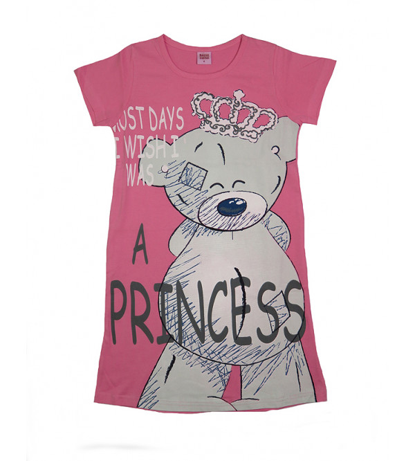 A Princess Girls Knit Dress