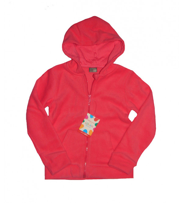 Girls Polar Fleece Sweat Shirt with Full Zipper