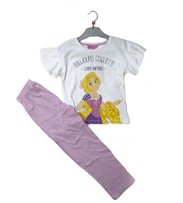 DiSNEY Girls Printed Pyjama Set