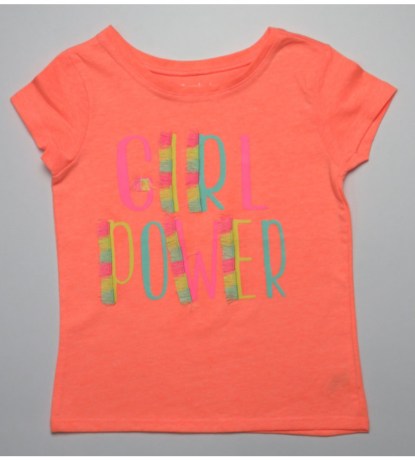 Girls Glitter Printed T Shirts