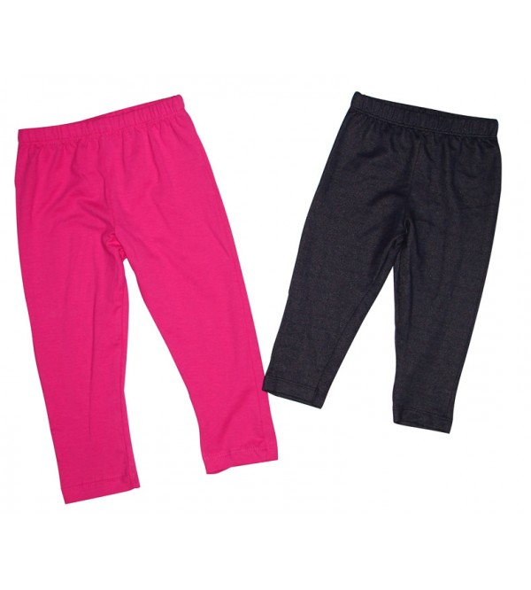 Baby Girls Stretch Leggings