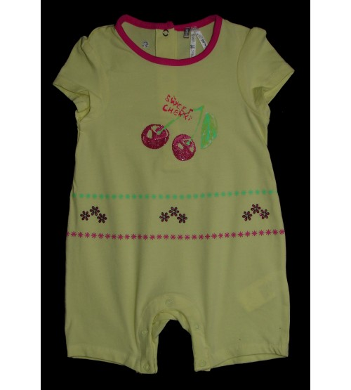Baby Girls Stretch Playsuits