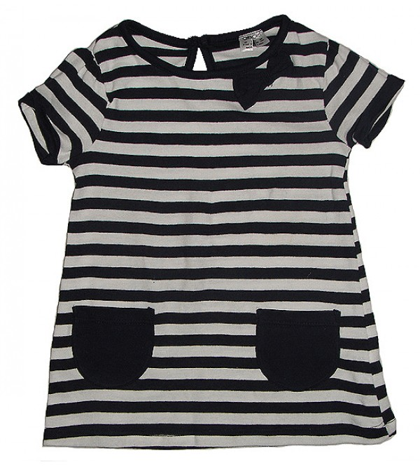 Baby Girls Dress (Striped and Printed)
