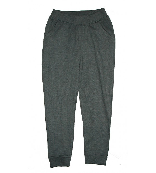 Girls KnitTerry  Jogger Bottoms